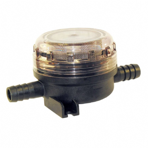 "Jabsco Fresh Water Pump Inlet Strainer with Hose Connection - 15mm (1/2"")"